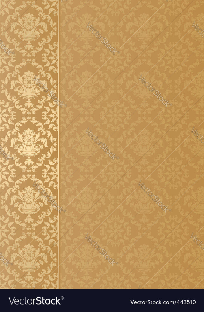 Decorative background vector