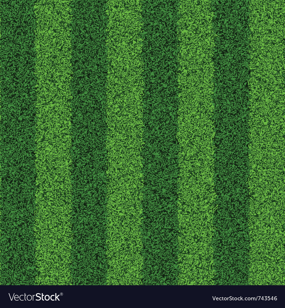 Seamless green grass field vector