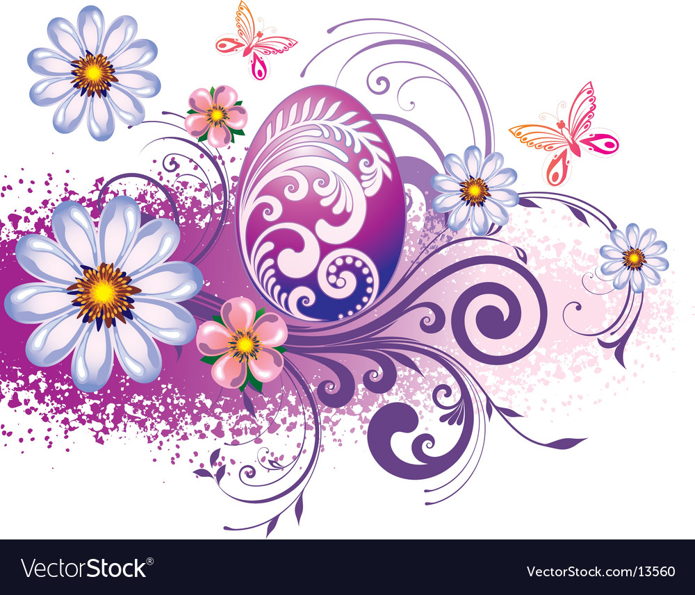 Easter graphic vector