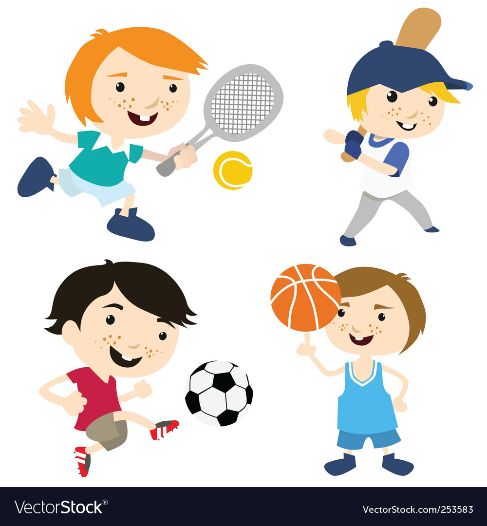 Sport cartoon vector