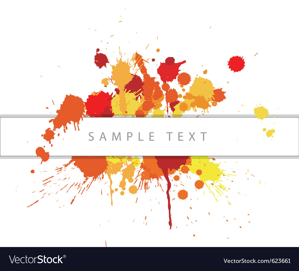 Abstract spots vector