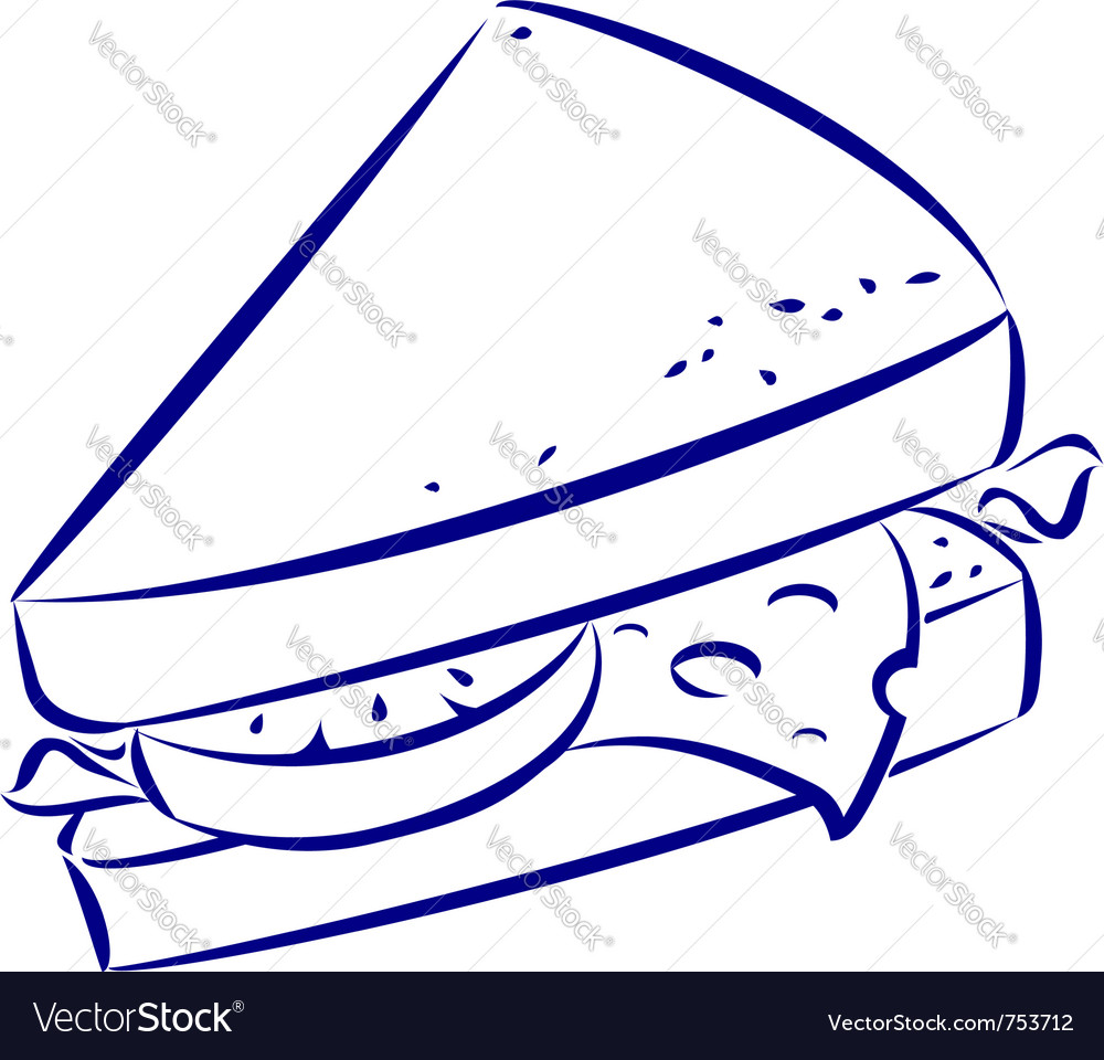 Sandwich Vector Images (over 7,480) - VectorStock