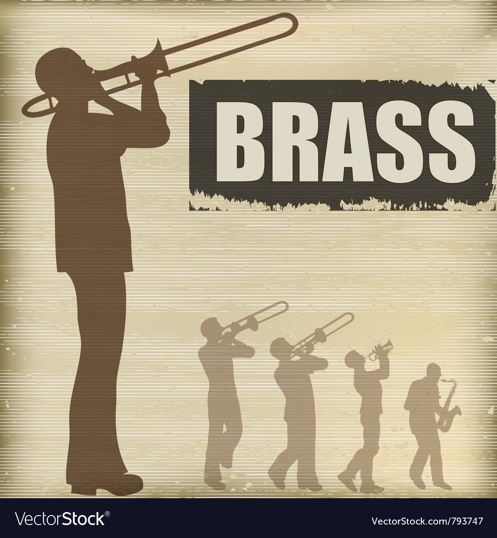 Brass band vector