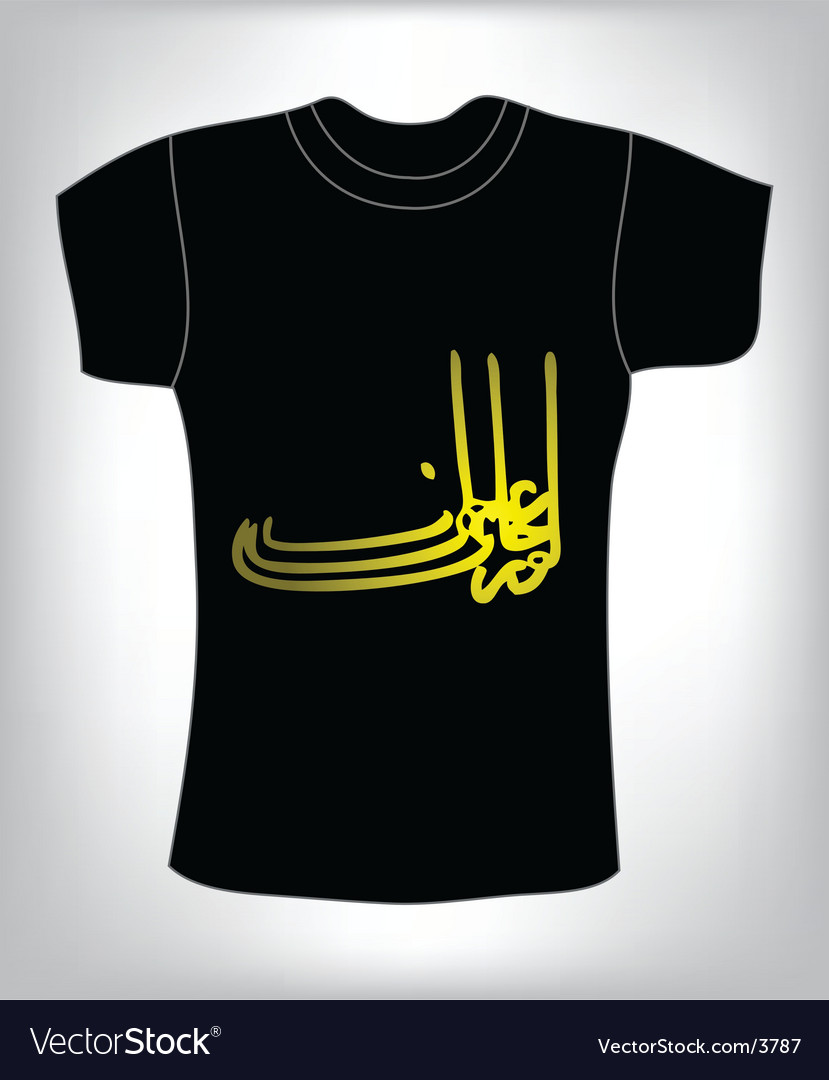 Tshirt design vector