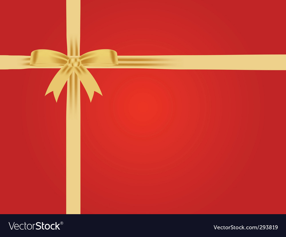 Free gift wrap vector