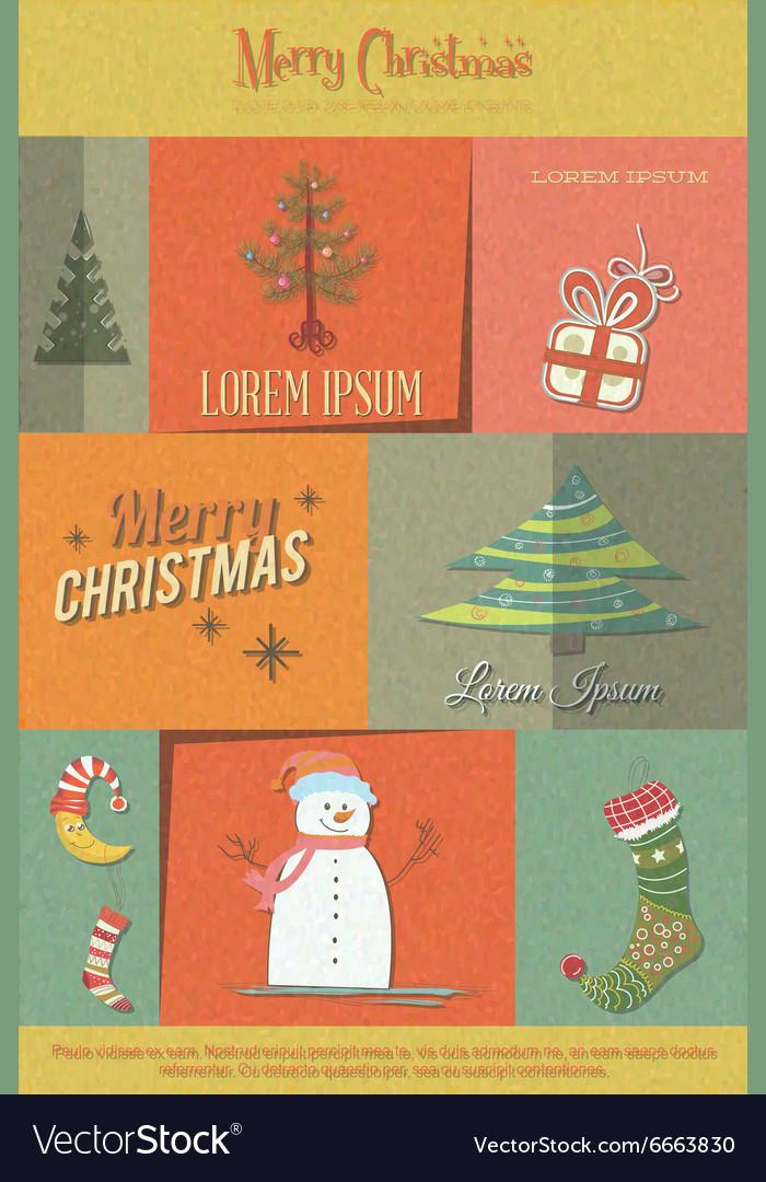 With christmas and christmas decoration