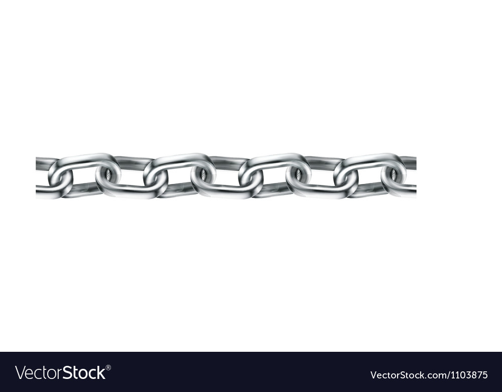 Chain seamless vector