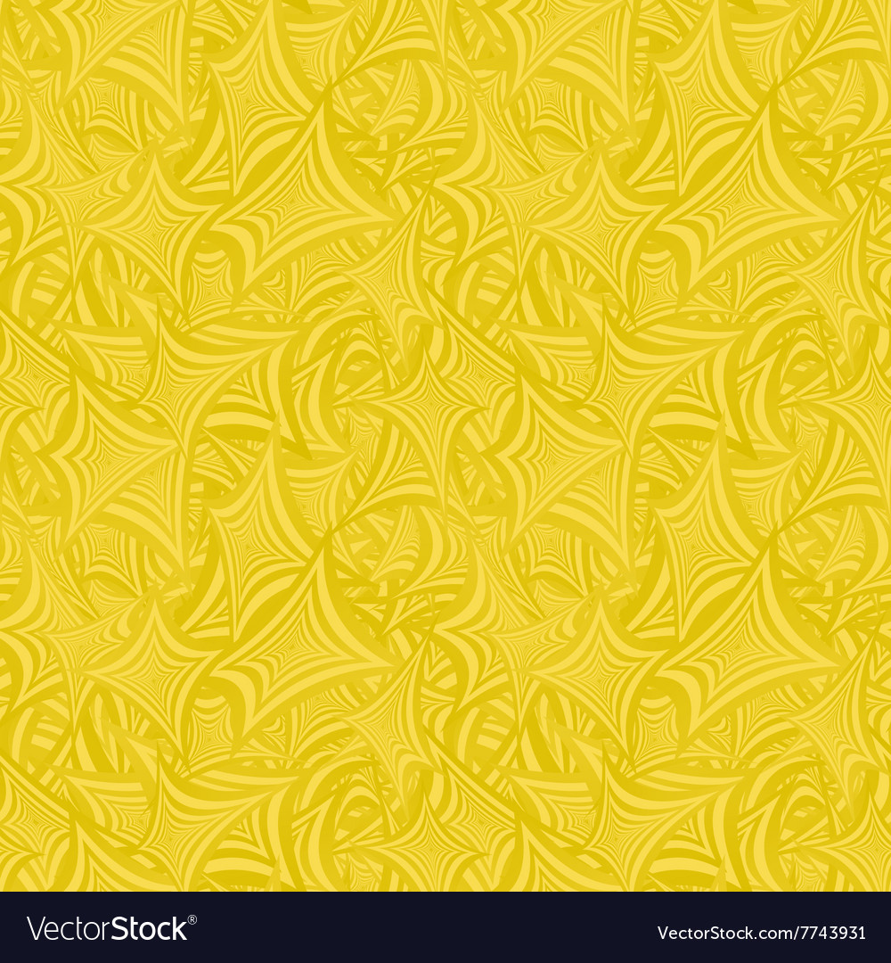 Golden abstract seamless pattern background