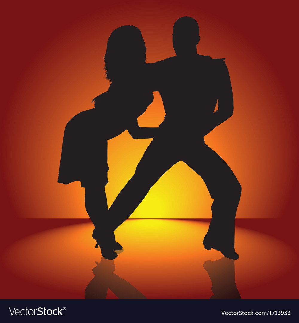 Hot latino dance vector