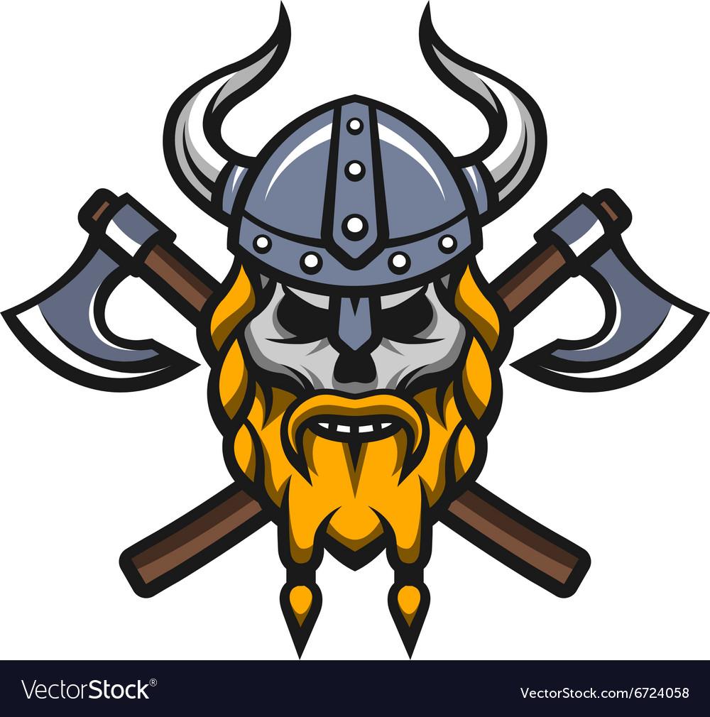 Viking Skull Logo ~ Logo Templates on Creative Market