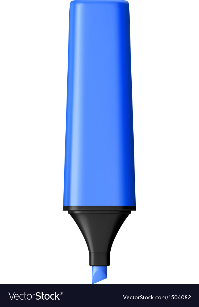 Marker pen vector