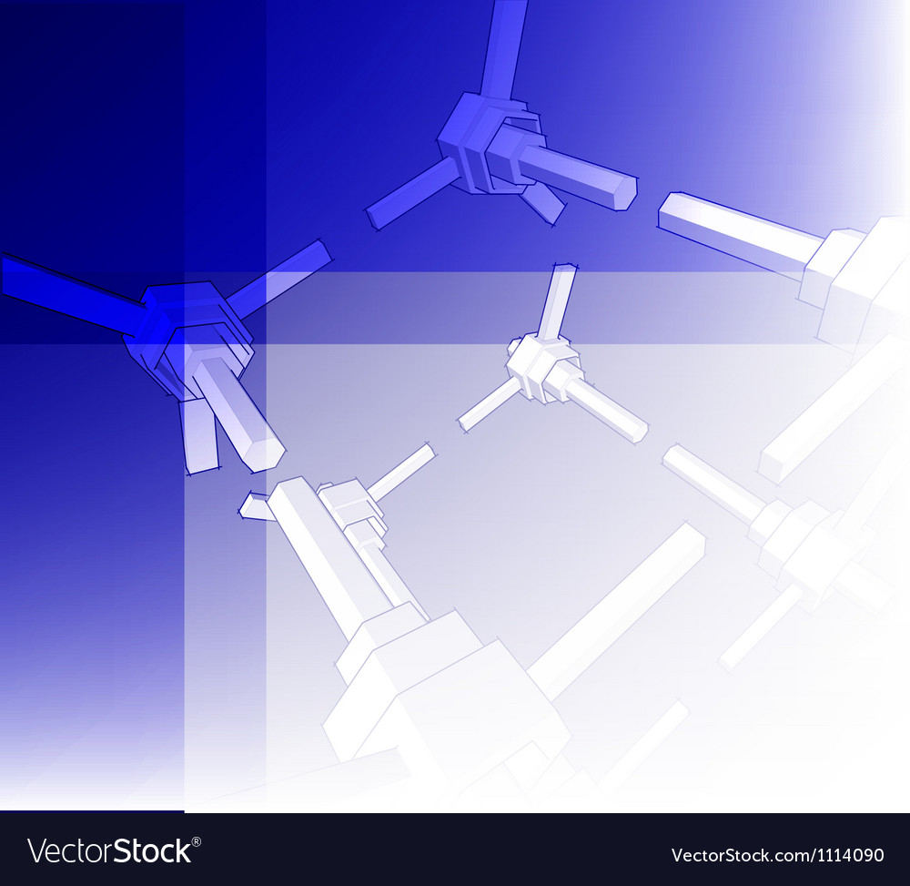 Sketch of an abstract architecture vector