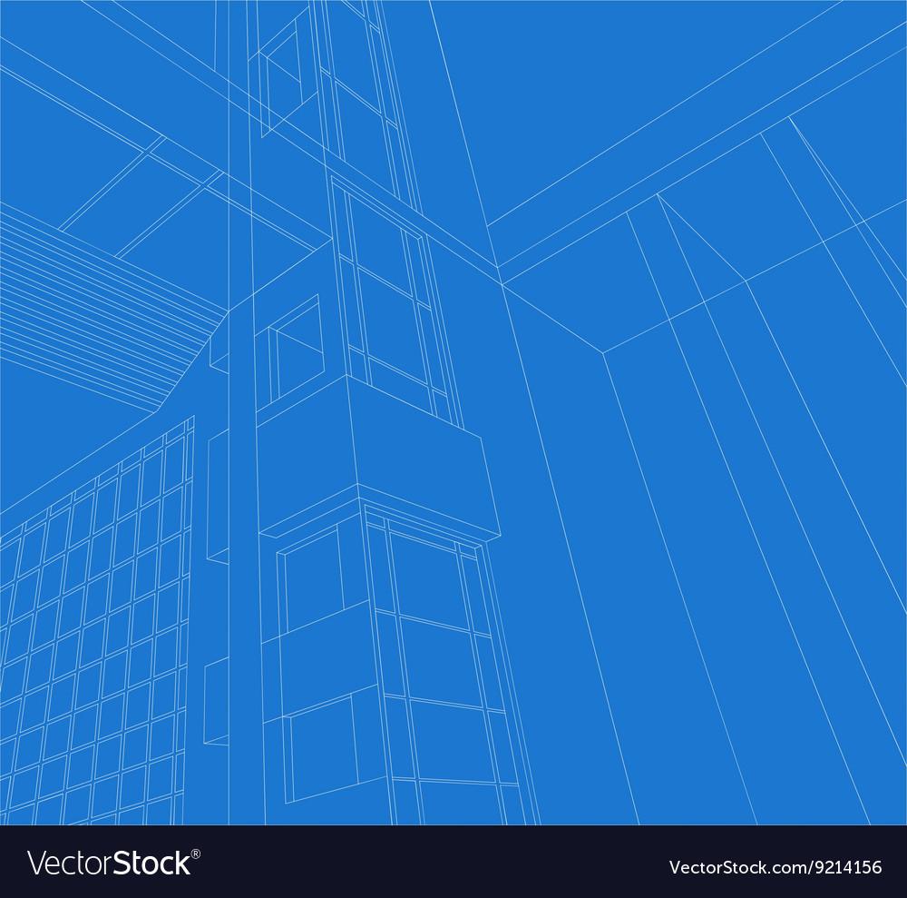 Architecture scene