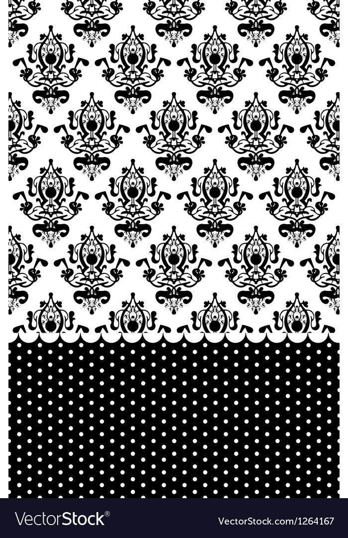 Black and white wallpaper vector