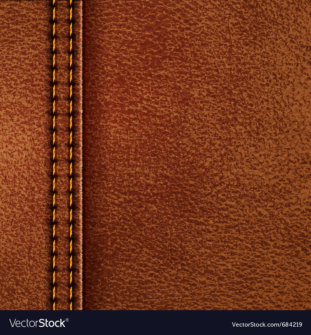 Leather texture vector