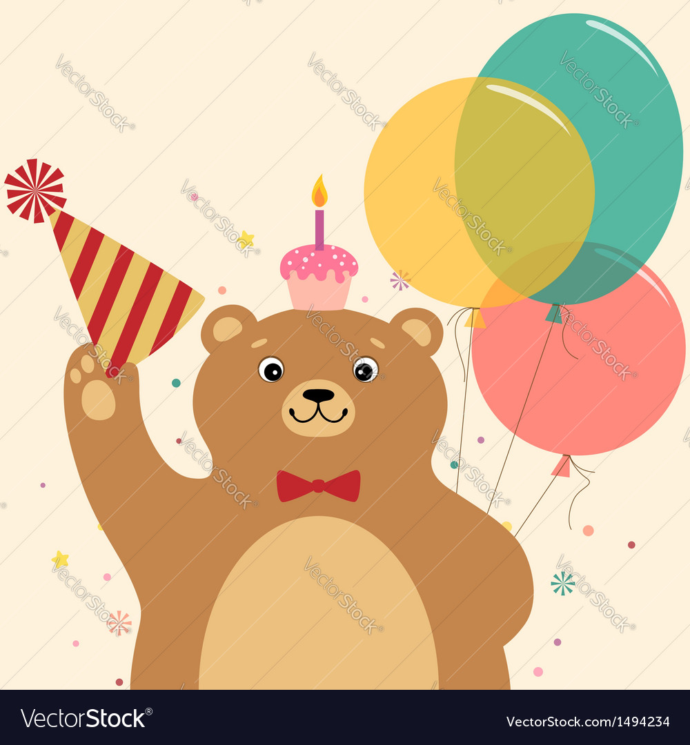 Birthday surprise vector