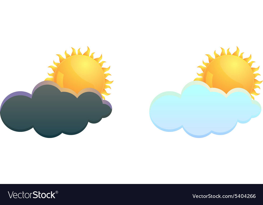 Cloud and weather icon