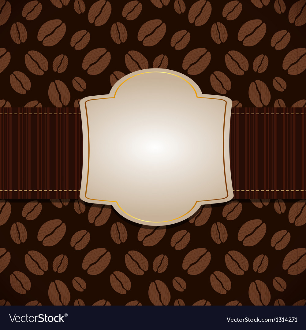 Coffee house menu template vector