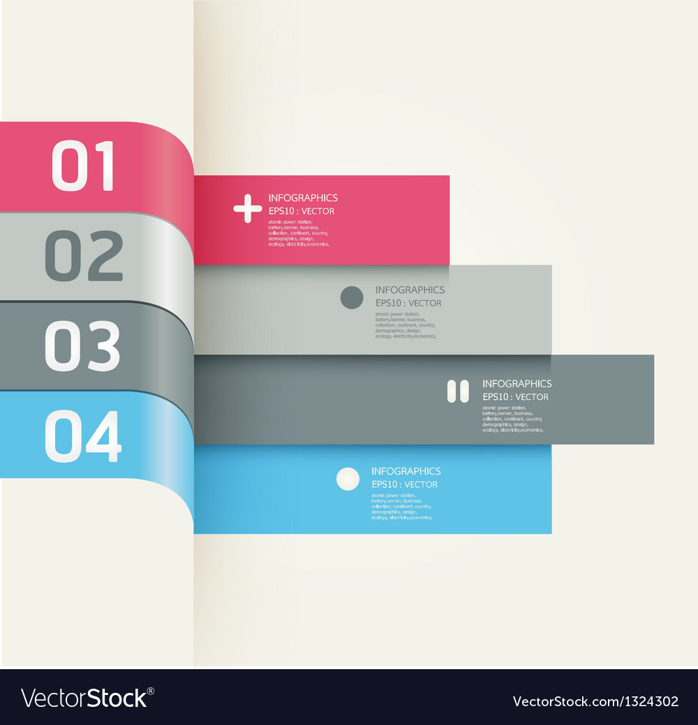 Modern design template banners vector