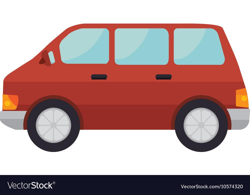 red car van vehicle vector by studiogstock image. Black Bedroom Furniture Sets. Home Design Ideas