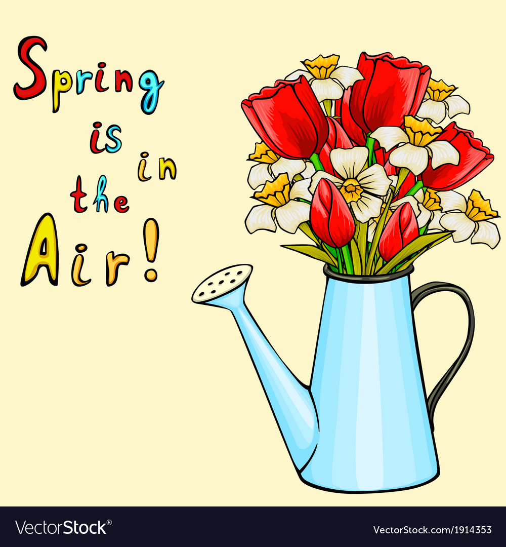 Cartoon Spring Flowers Cliparts Co