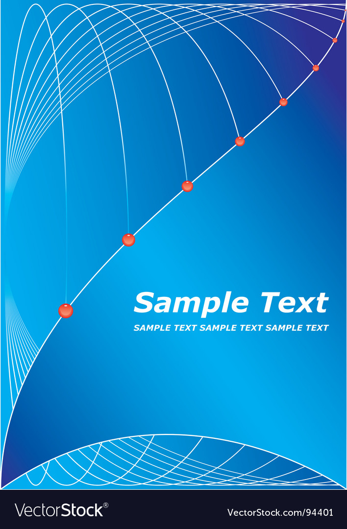 Title page design vector by almagami - Image #94401 - VectorStock Title page design vector