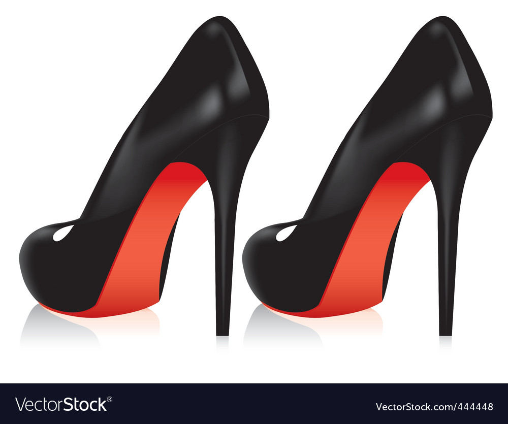 Red Back High Heels
