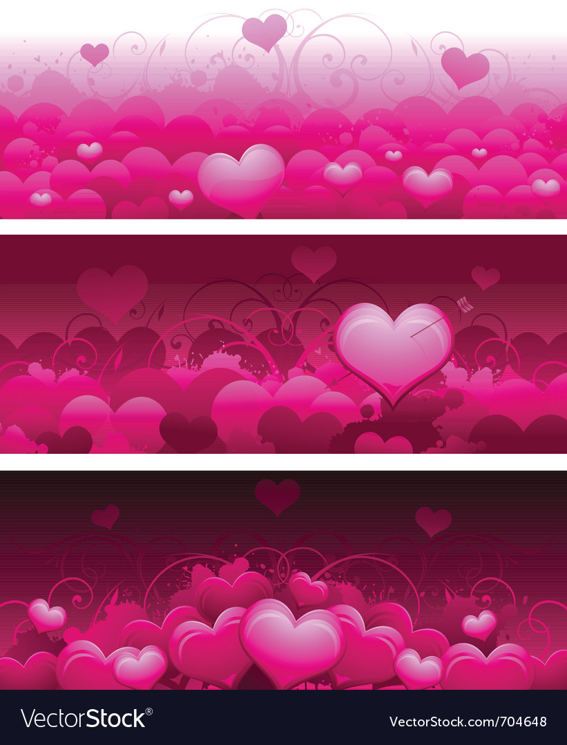 Valentines day concept background vector
