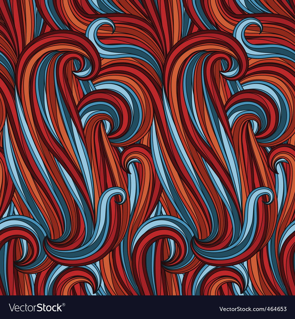 Abstract graphic pattern vector
