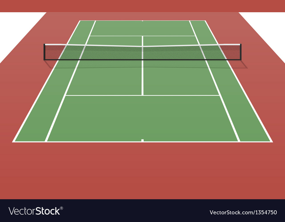 Tennis Net Stock Vectors Clipart and Illustrations