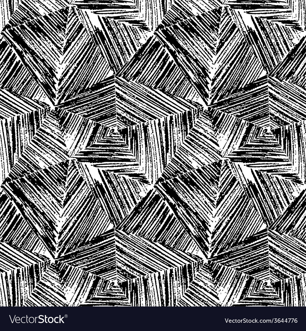 Seamless Abstract Scribble Pattern (Monochrome) Stock Photo ...