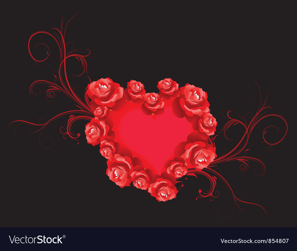 Free valentine background vector