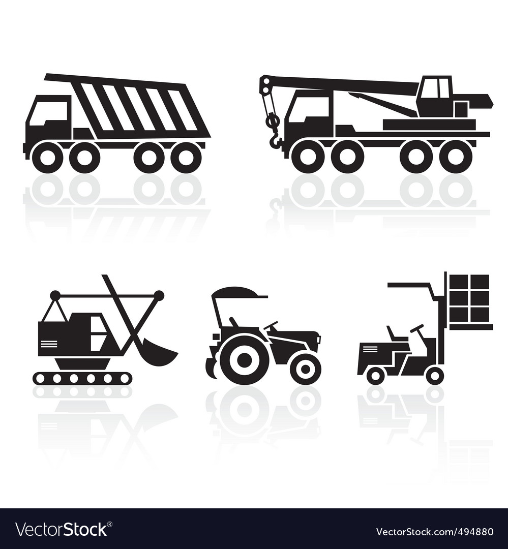 Special vehicles vector