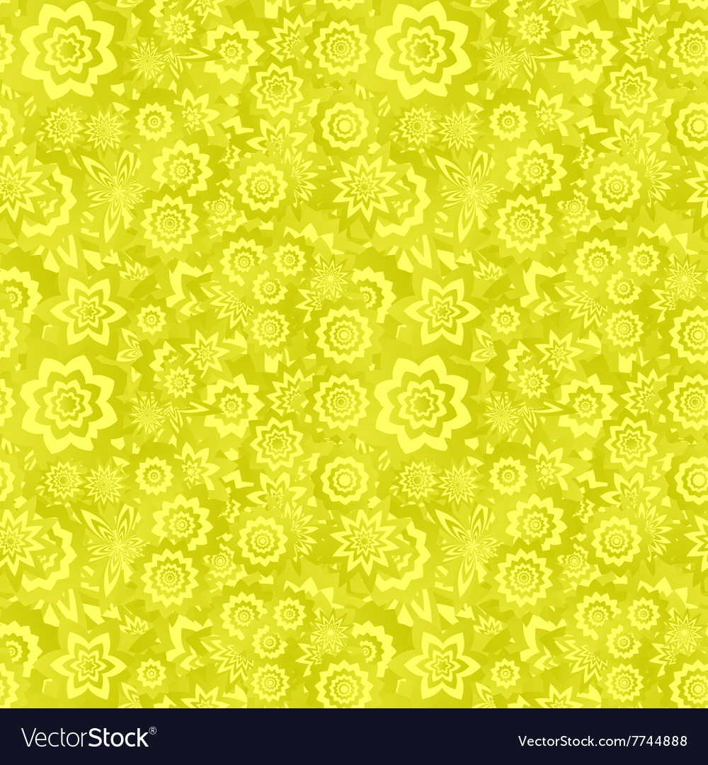 Yellow Seamless Floral Pattern Background Stock Images Page