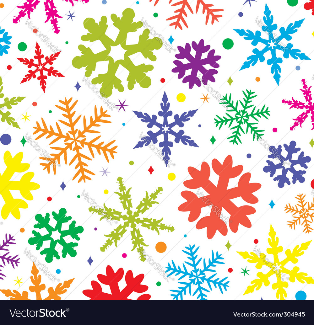 Colorful Snowflakes colorful snowflakes vector by onlyforyou - image ...