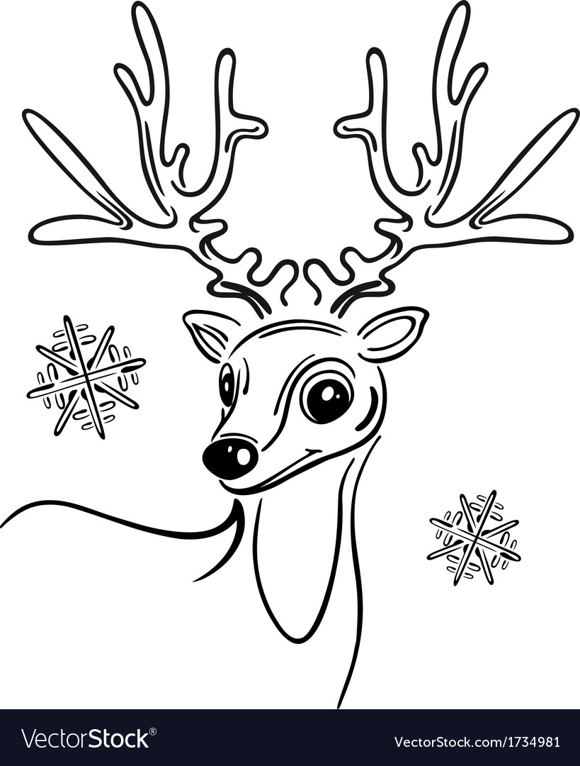 Christmas reindeer vector by christine-krahl - Image #1734981 ...