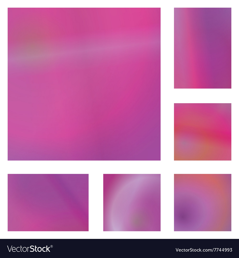 Magenta abstract background design set