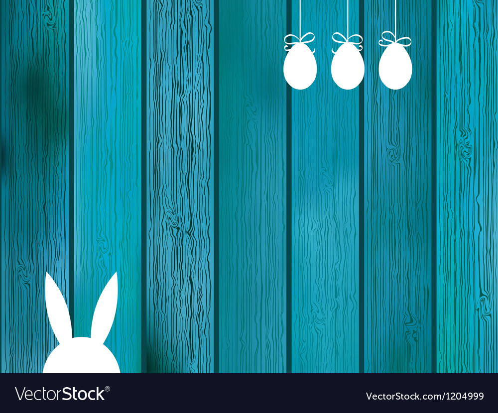 Blue background with copy space on wood eps8 vector