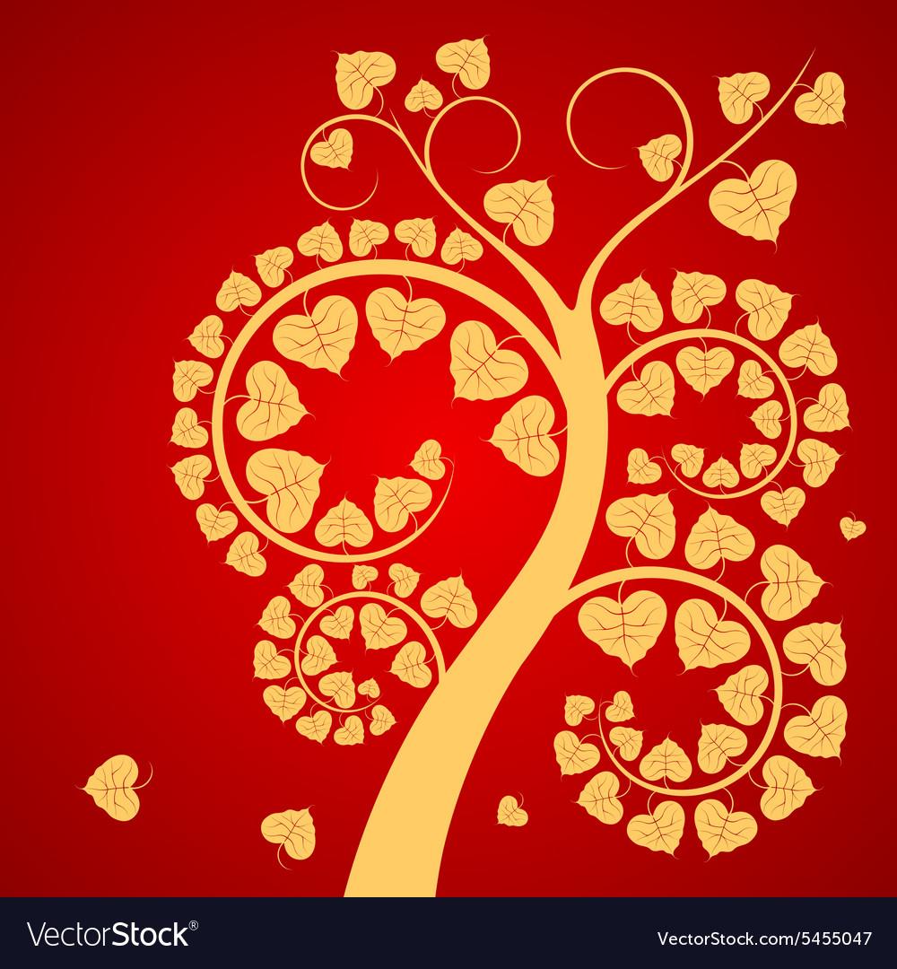 Leaf and tree