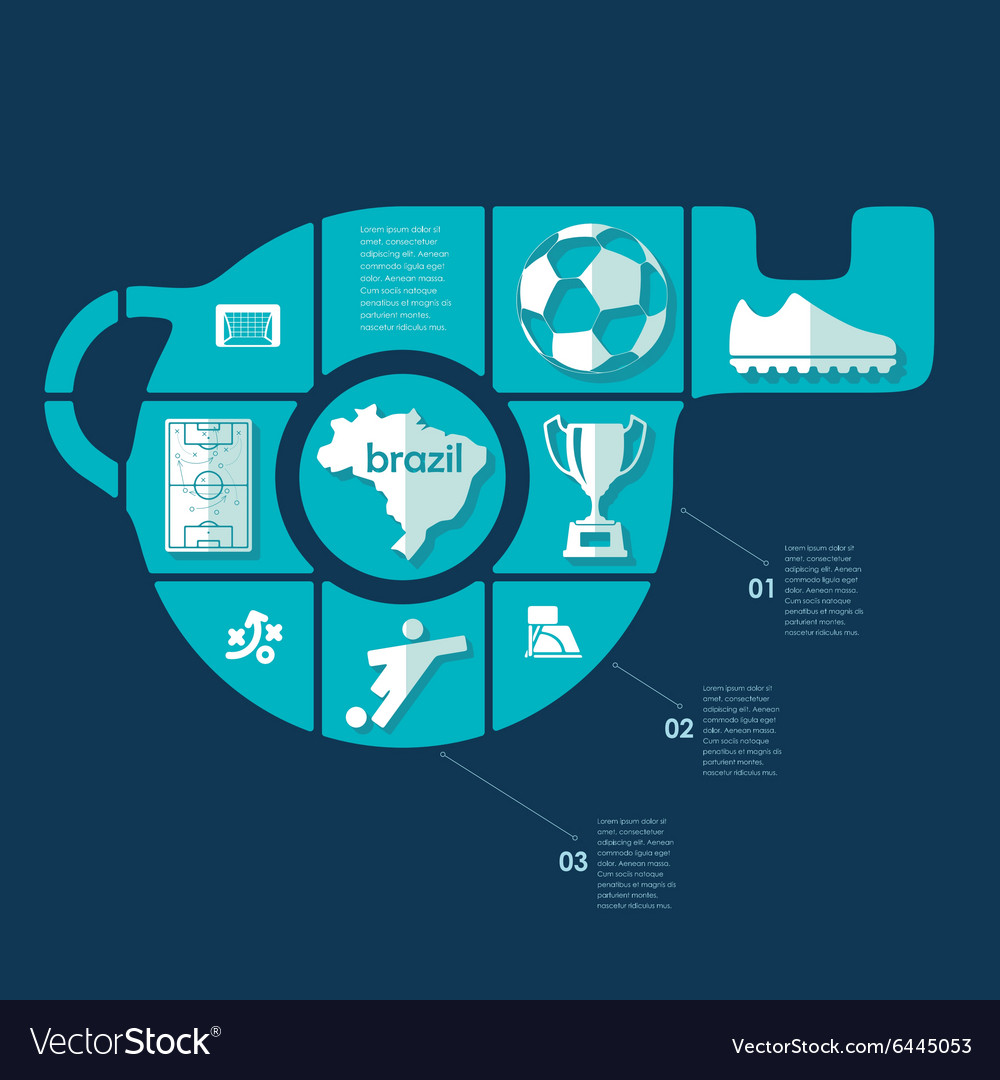 Infographic Ideas infographic soccer : Football soccer infographic vector by Palau83 - Image #6445053 ...