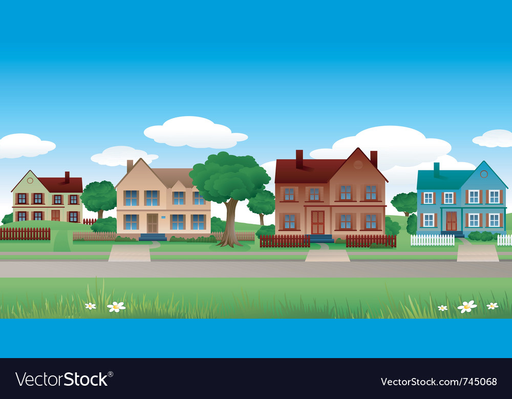 House background vector