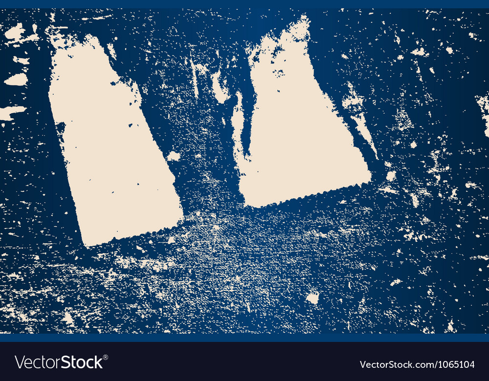 Stained blue background vector