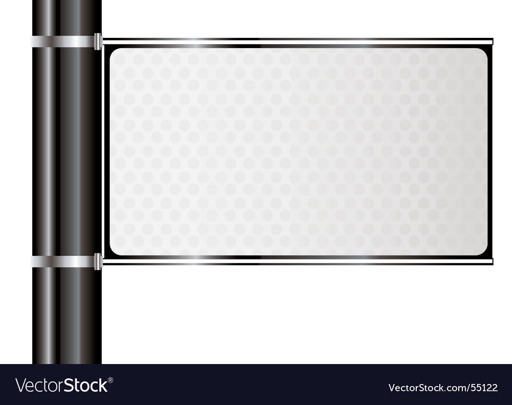 Free street sign vector