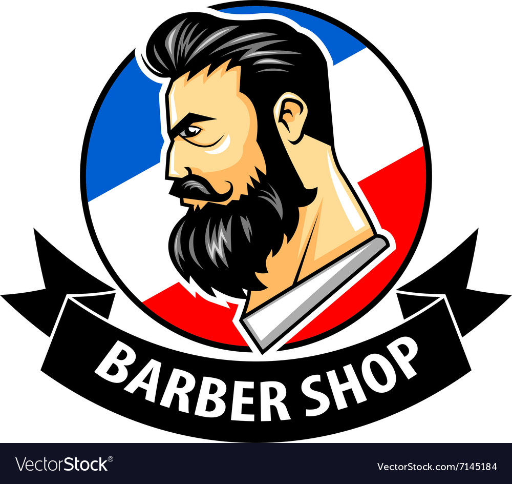 Barber Vector : Barbershop with ribbon logo vector by superzizie - Image #7145184 ...