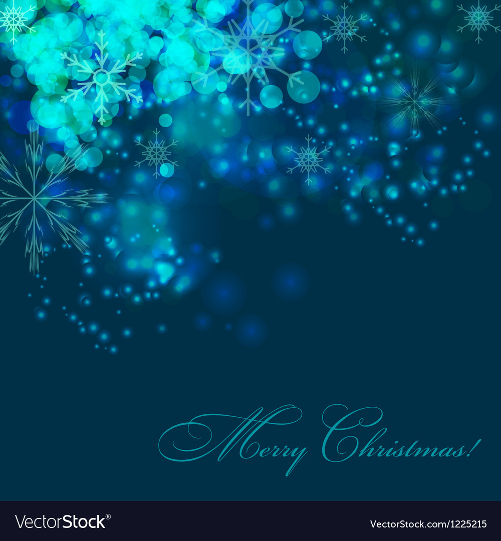 Abstract christmas and new year background vector