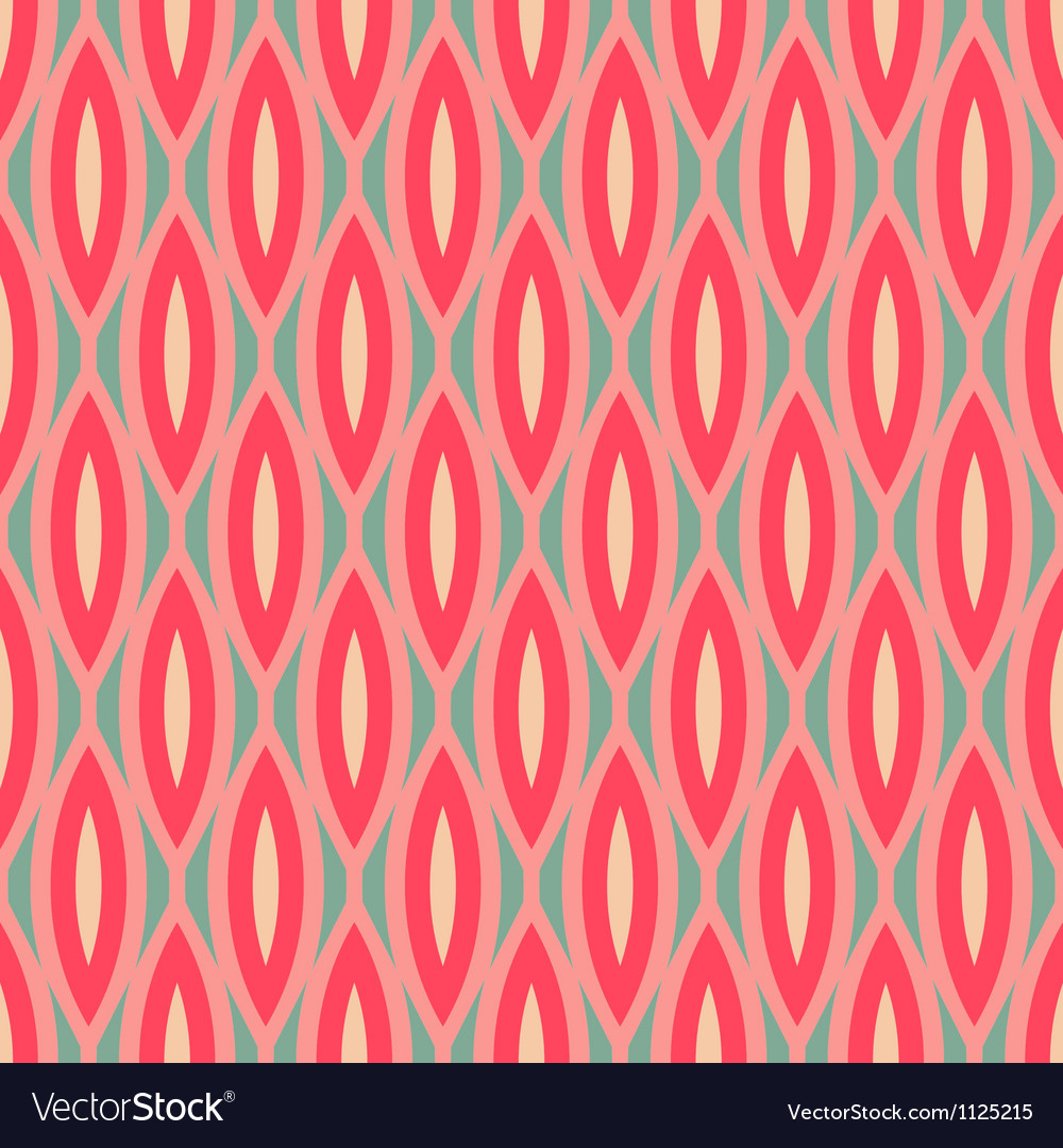 Modern geometric seamless pattern ornament vector