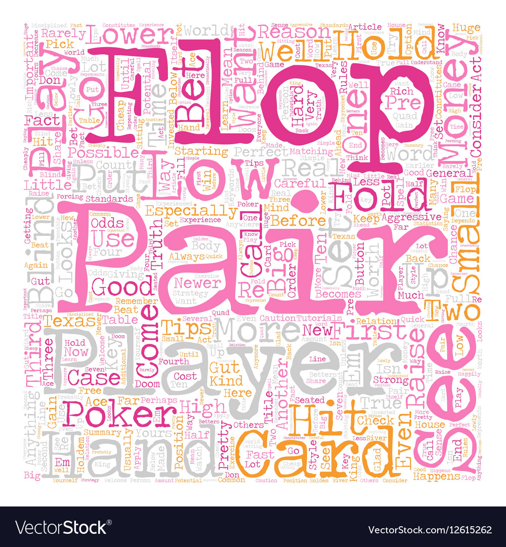 how to play texas poker tips