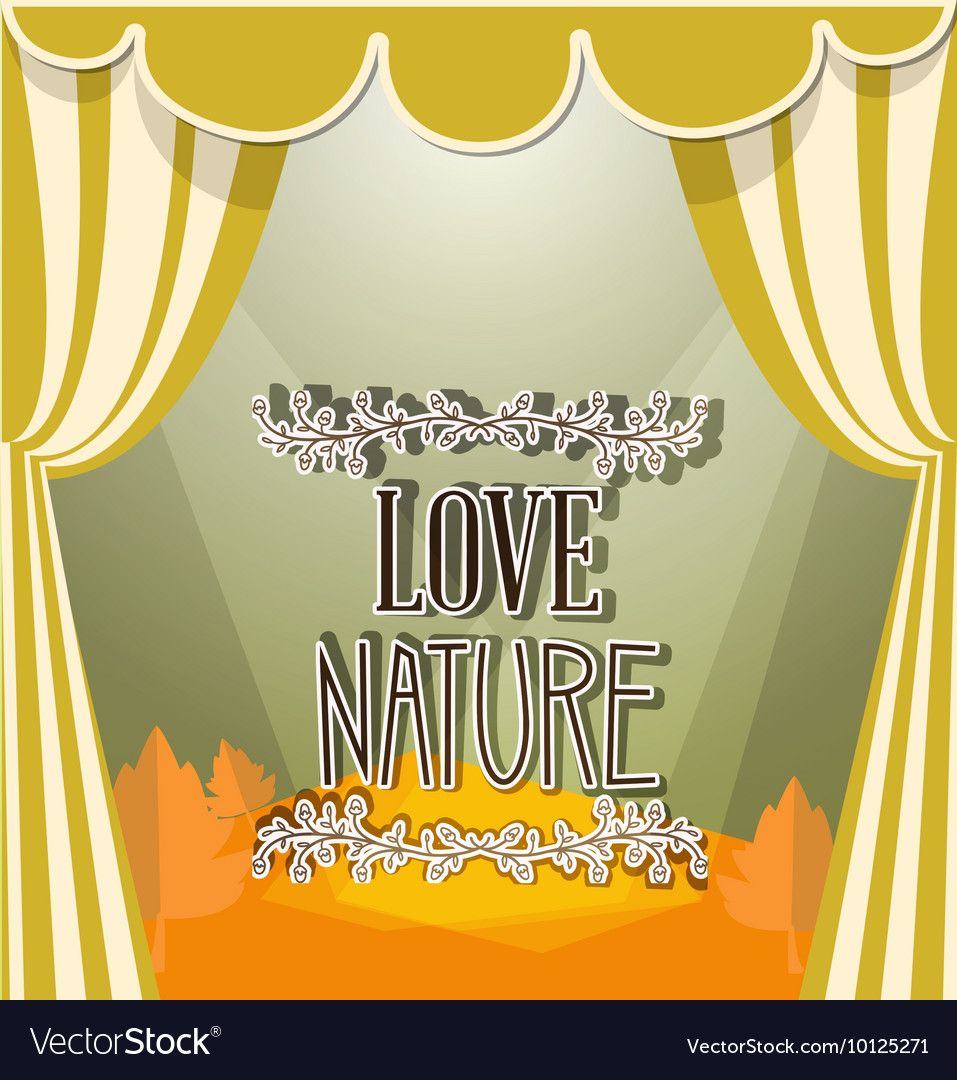 With nature and nature