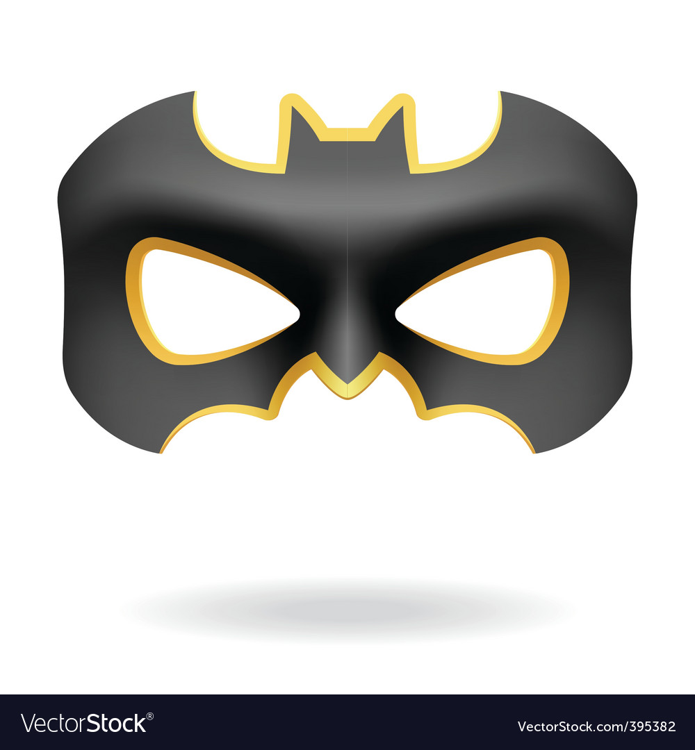 Masquerade mask vector