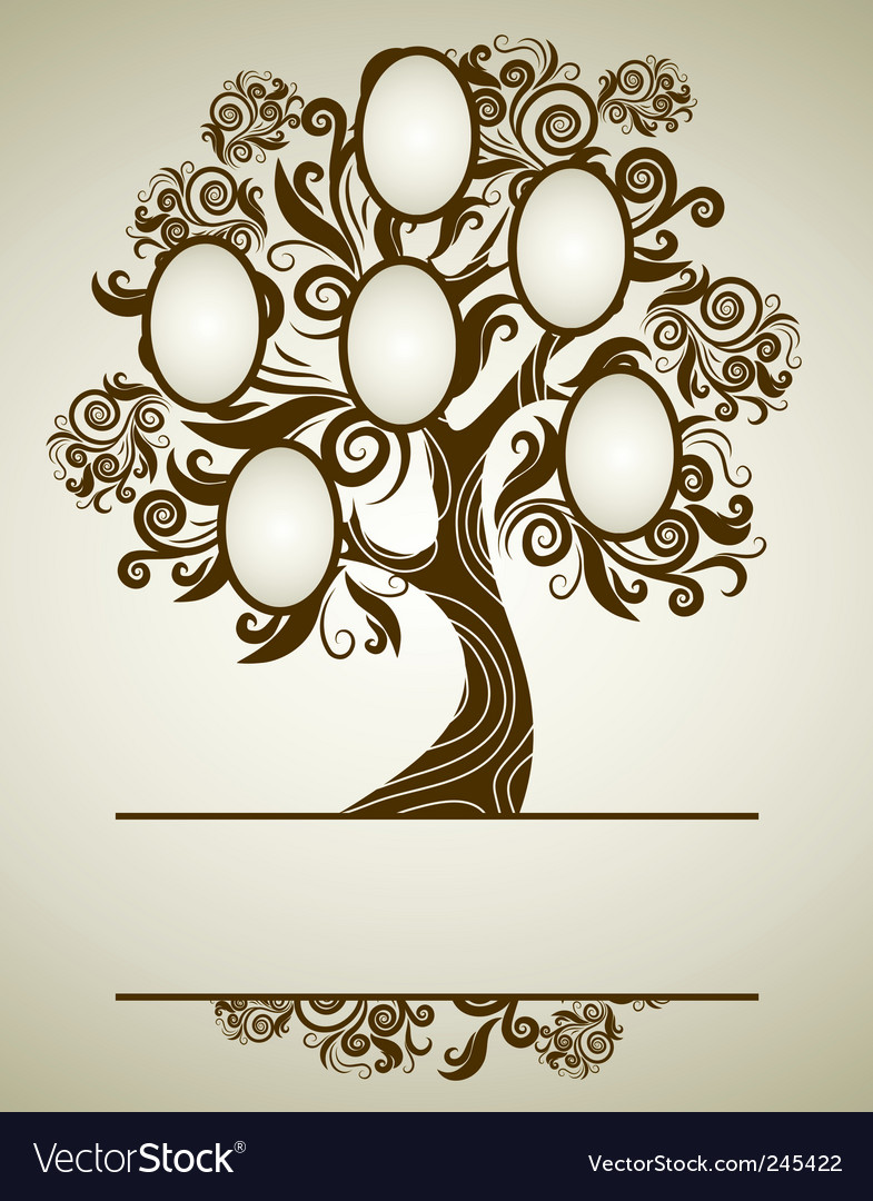 Family tree Vector Image by kynata - Image #290455 - VectorStock